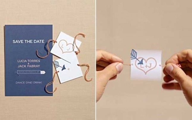 24 Creative Diy Save The Dates Your Guests Will Love