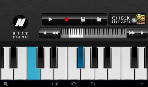Can you imagine a moment without your beloved piano? Dont worry, you can take it to your pocket now!<p>Best Piano is a virtual piano simulator, so you can practice your skills anytime! The recording function will allow you to save your musical compositions and play them later. You can set the amount of visible keys from 8 to 21. You can move the keyboard with one key or one octave to the right or to the left. If it is more comfortable for you, set the key signature and choose the language…