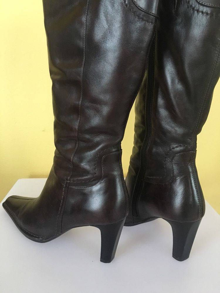 507213f78dd ALDO BROWN LEATHER KNEE HIGH WOMEN S BOOTS SIZE 39  fashion  clothing  shoes   accessories  womensshoes  boots (ebay link)