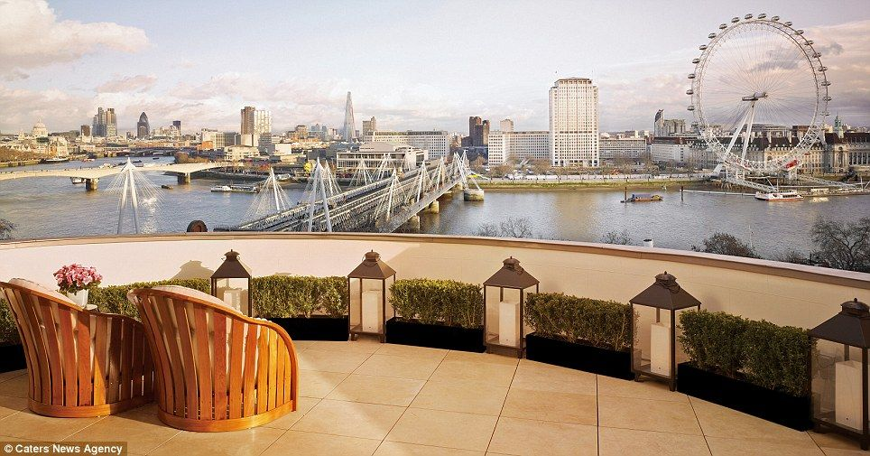 The Suite Of Corinthia Hotel In London Offers One Best View City Including River Thames And Eye Honeymoon