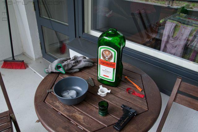 ffp :: Näytä viesti - Pullosta pöytälamppu. (Jägerlamppu valmis.. EVO2)