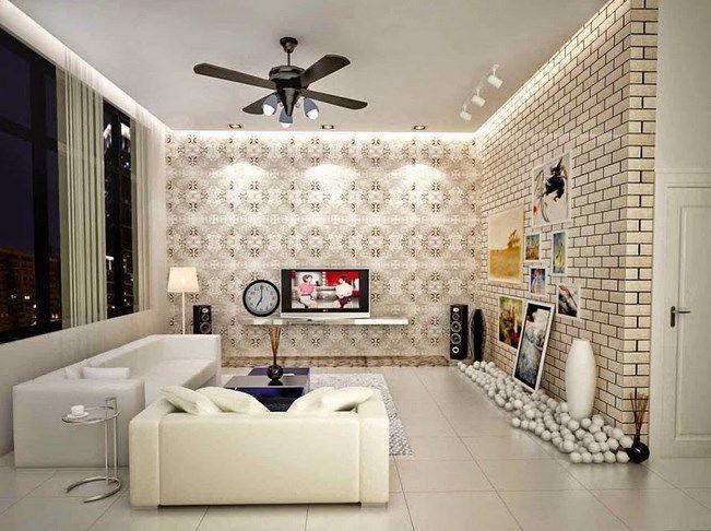 Wallpaper Dinding Ruang Tamu Menawan