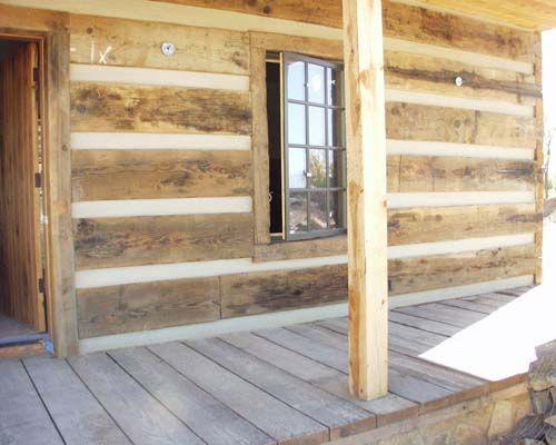 Rustic Wood Siding Utah Cabin Weathered Siding Weathered Timber Siding And Decking Cabins And Cottages Utah Cabins Installing Siding