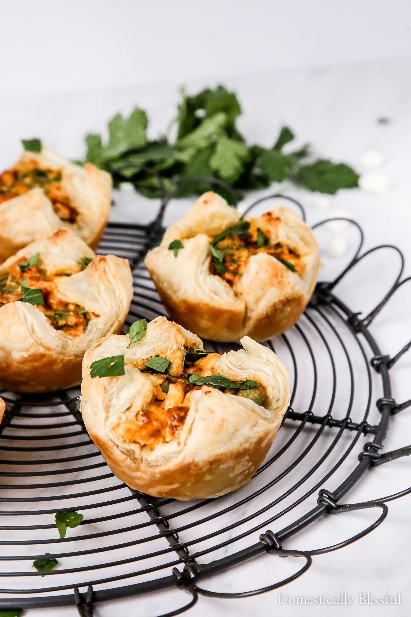 Vegetarian Chorizo Spinach Cheese Puffs Recipe Spinach Cheese Puffs Cheese Puffs Recipes