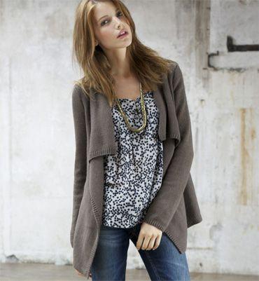 modele gilet a tricoter femme
