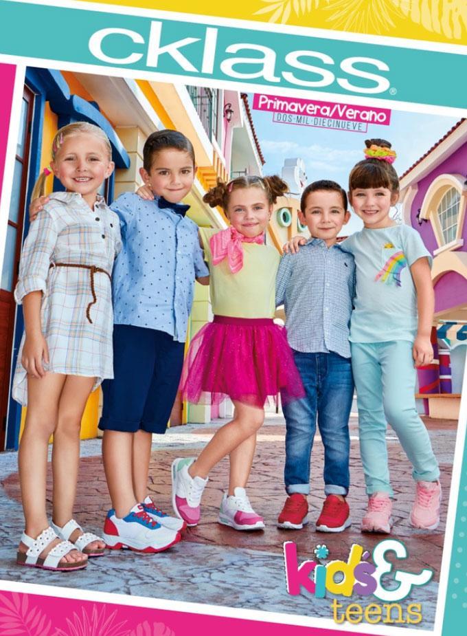 Catalogo Kids Cklass Impreso Catalogos Cklass Catalogos De Ropa Ropa Infantil Para Nina