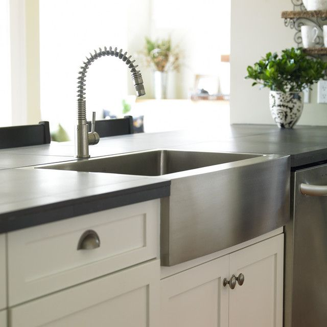Stainless A Sink Cream Black And