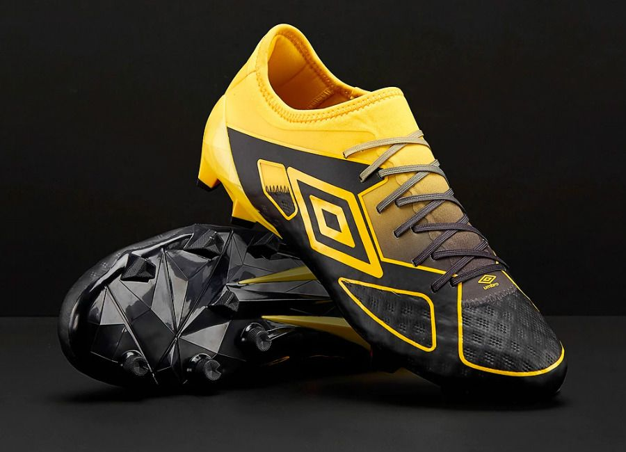 football  soccer  futbol  footballboots Umbro Velocita III Pro FG - Black    Golden Kiwi beb55adb84c79