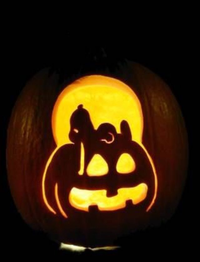 Snoopy pumpkin pumpkin pinterest calabazas asas y for Charlie brown pumpkin template