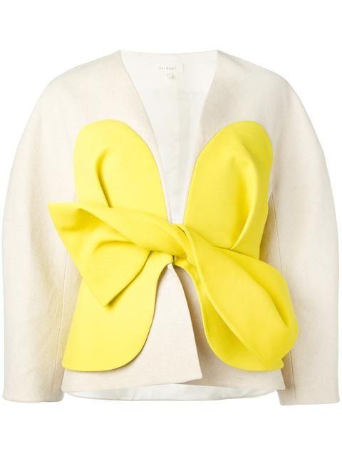 DELPOZO structured bow jacket. #delpozo #cloth #재킷
