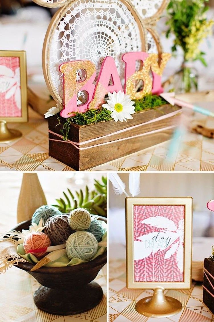 Deko Ideen Party Deko Ideen Baby Shower Party Bohemian Style Dekoration Liebe