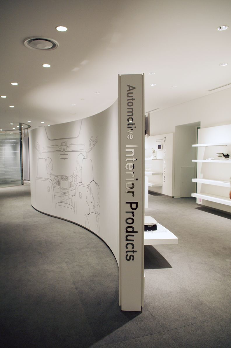 Asiatic Expo Exhibition Stand Design Amp Build : Ntec product gallery lounge by nakano design office s