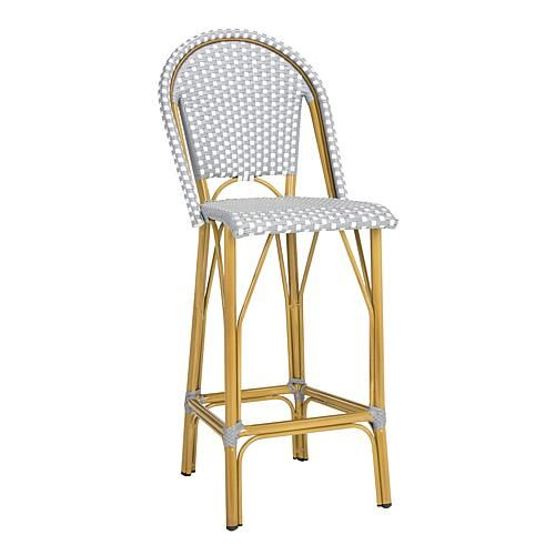 Safavieh Ford Indoor Outdoor French Bistro Stacking Barstool 8594711 Outdoor Bar Stools Patio Bar Stools Outdoor Patio Furniture Sets