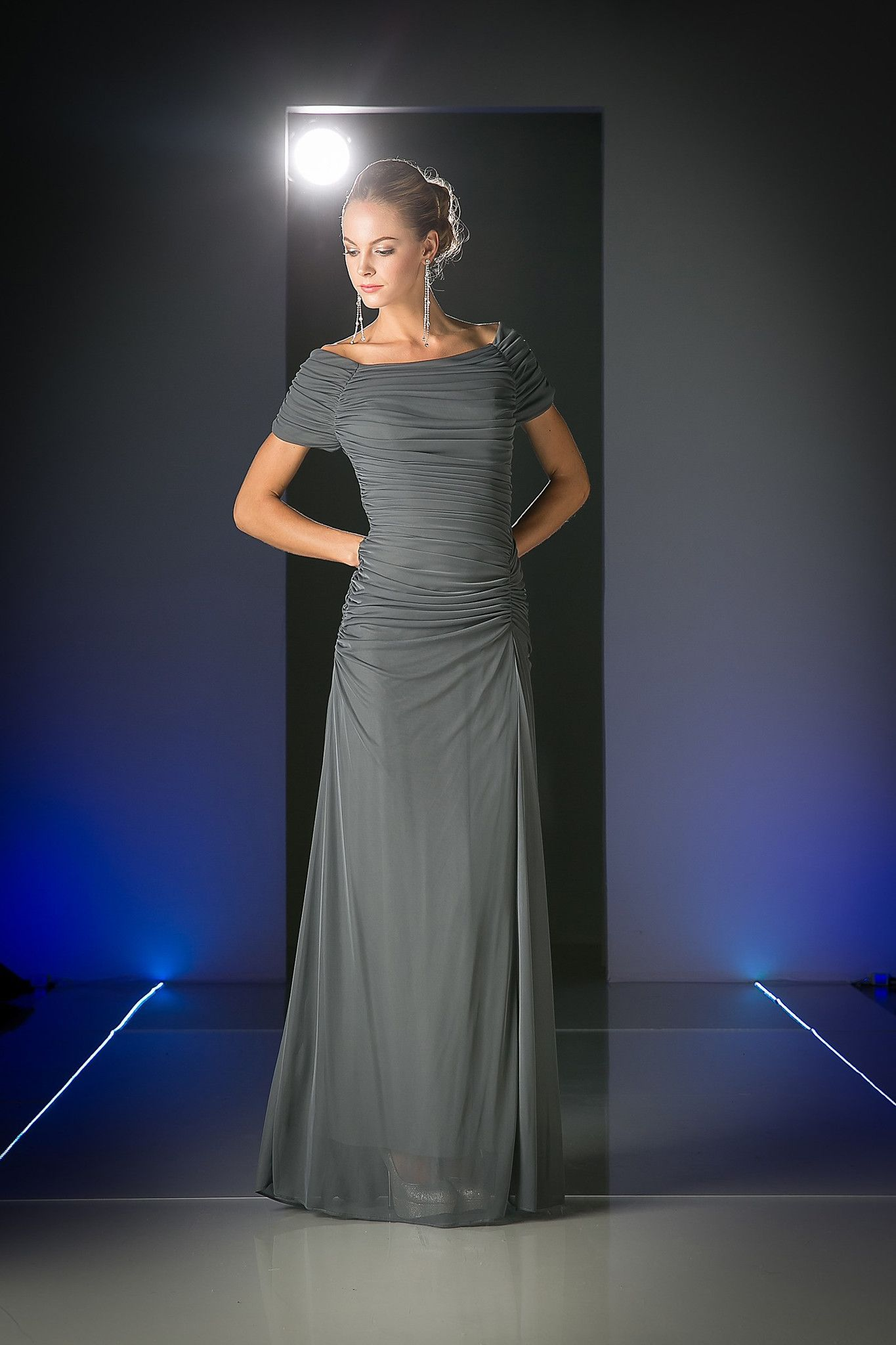 Mothers dress for wedding plus size  Elegant Unique Mother of the Bride Dress Formal Charcoal  Dress