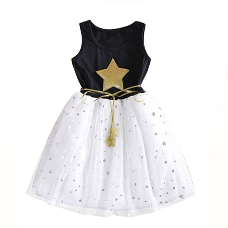 6fdc7e0f0aba8 PPXX 2019 Baby Girl Lace Dress Mesh Princess Dress Summer Party ...