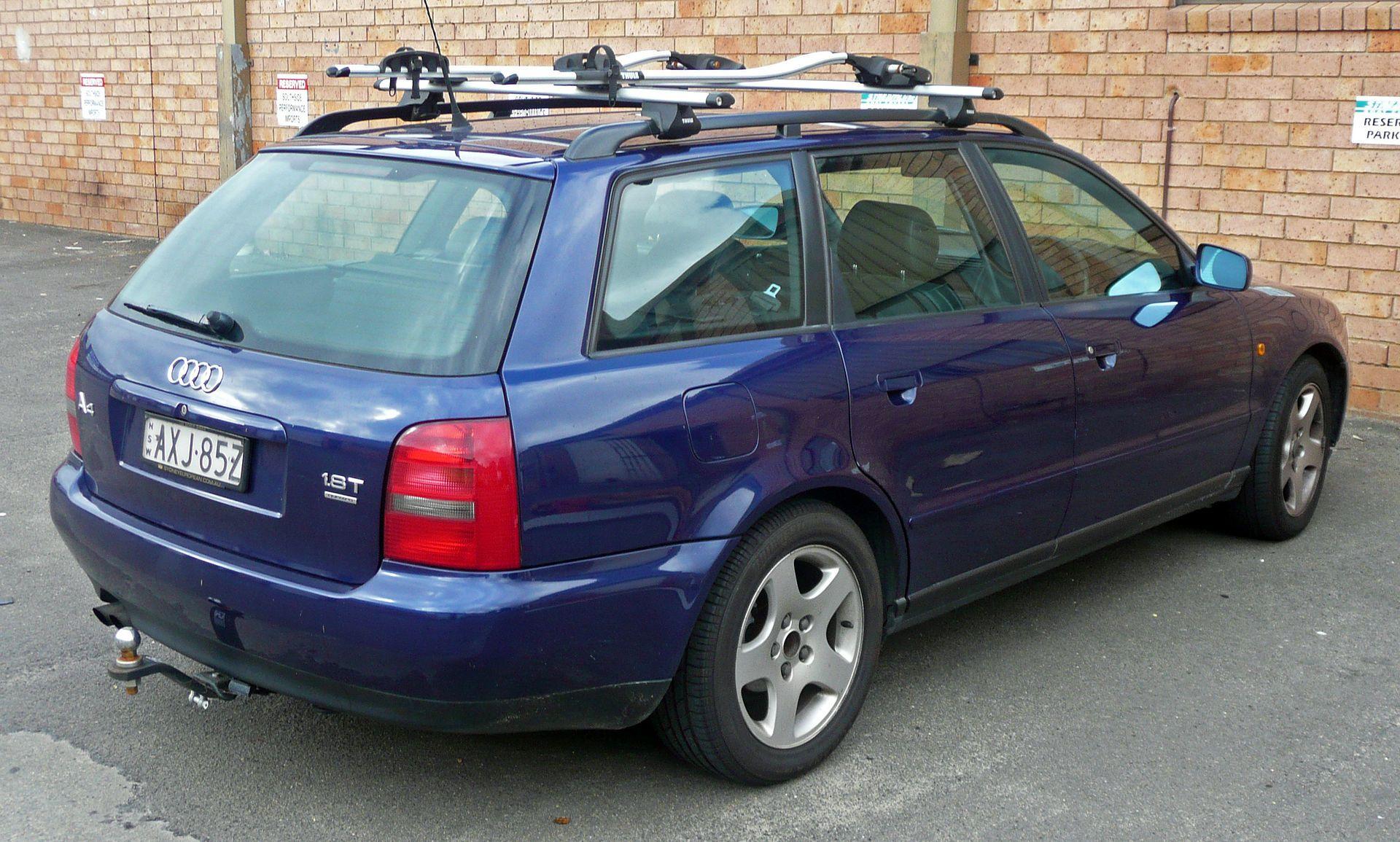 1998 1999 Audi A4 8d 1 8t Quattro Avant 01 Audi A4 Wikipedia Audi A4 Audi Suv