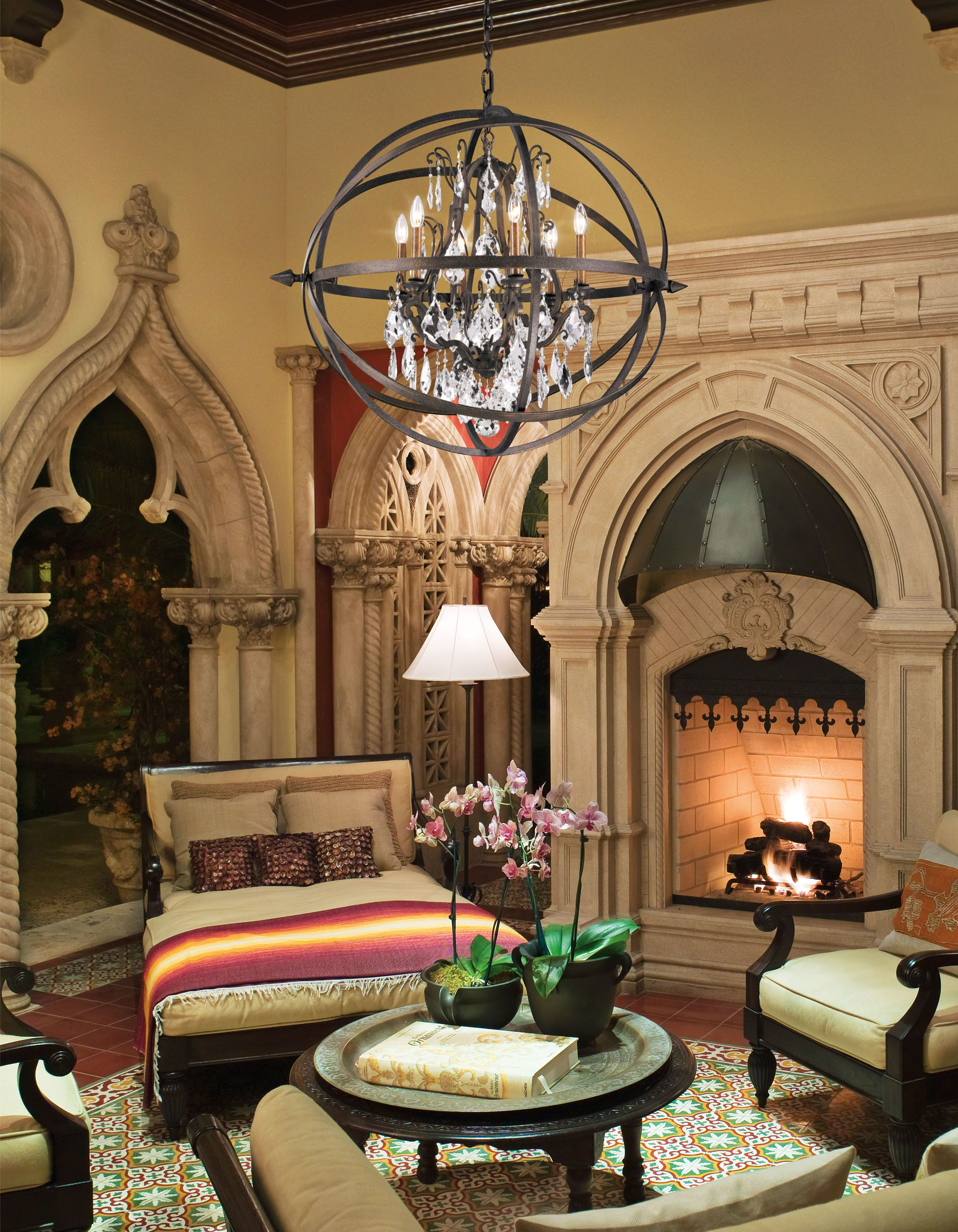 Troy Lighting F2995 With Images Orb Chandelier Globe
