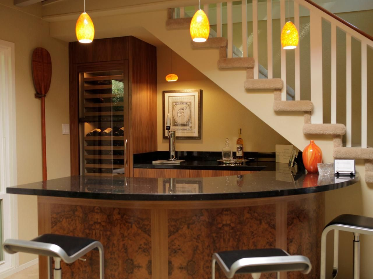 Explore basement bar ideas and designs at