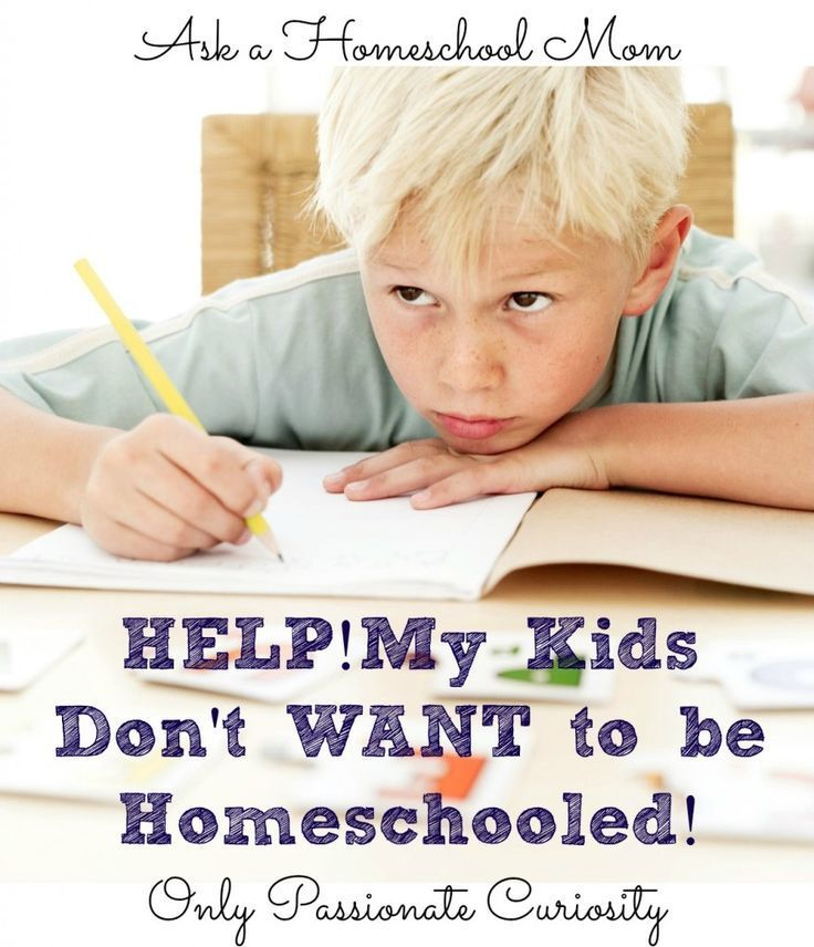 What Do I Do If My Kids Don't Want To Be Homeschooled