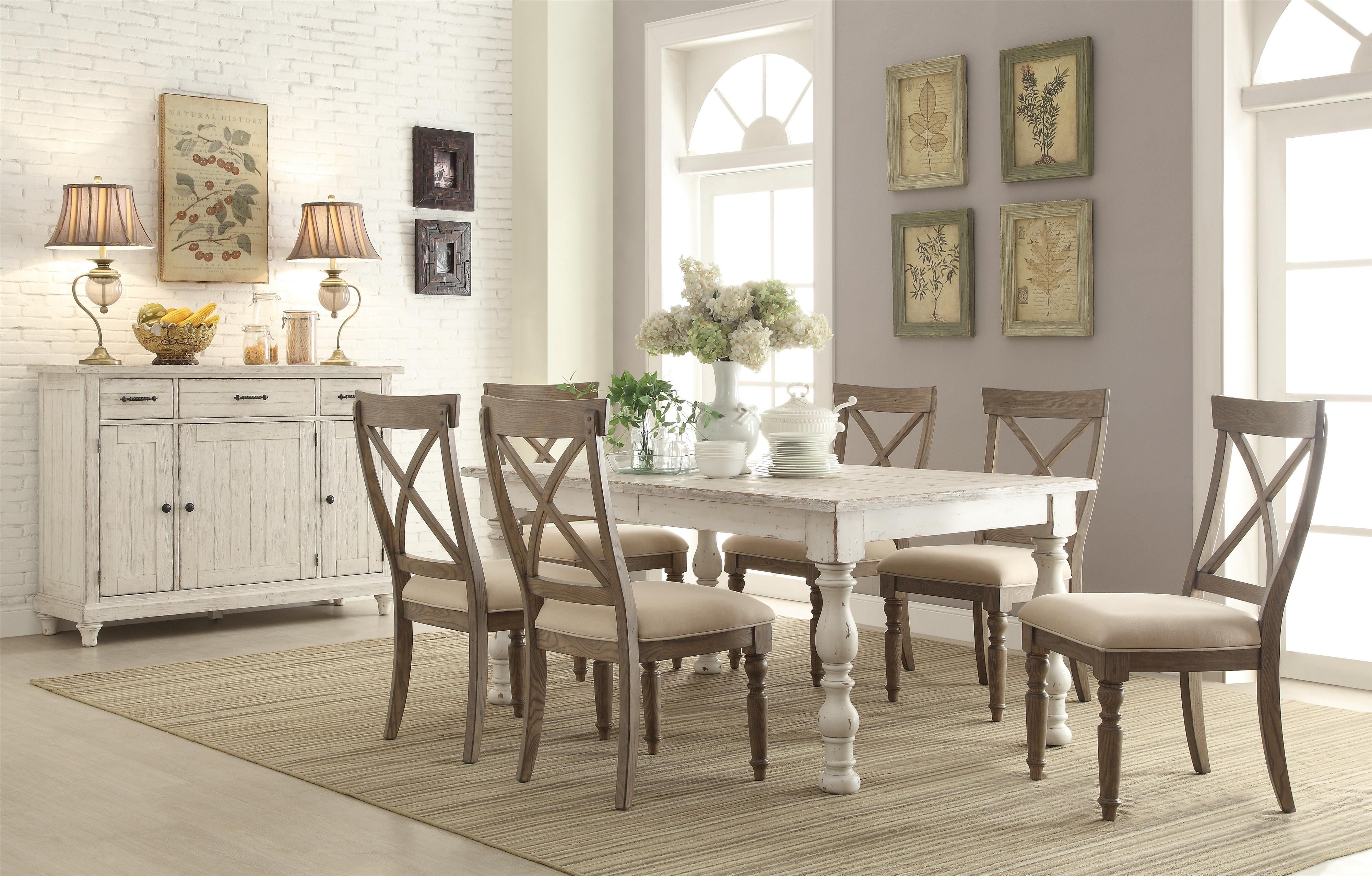 Add An Industrial Flair To Your Dining Room With Howell Furniture Classy Round Formal Dining Room Sets For 8 Design Decoration