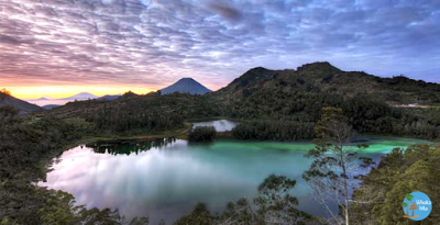 Eksotisme Telaga Warna Dieng Plateau Wonosobo Wisata Hits Pemandangan Tempat Indonesia
