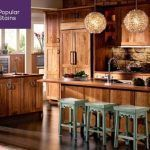 Stained Kitchen Cabinets Rustic Honey Spice Kitchen Stained Kitchen Cabinets 201cabinets