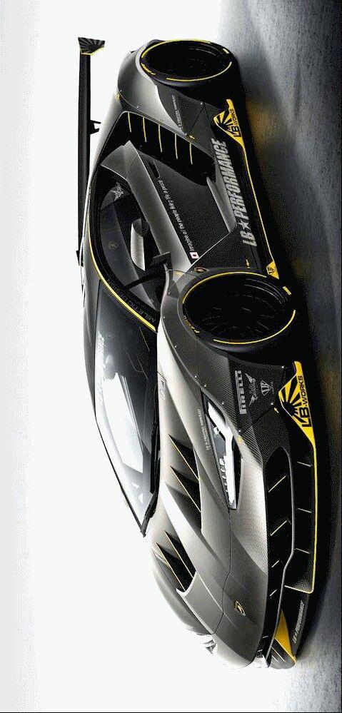 Liberty Walk Lamborghini Centenario Widebody Rendering Car Design