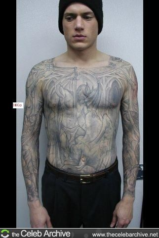 445da050432af Wentworth Miller picture Prison Break 3, Broken Tattoo, Wentworth Miller,  Ing Civil,