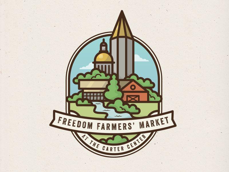 Freedom Farmers' Market Logo | Farmers market logo ...