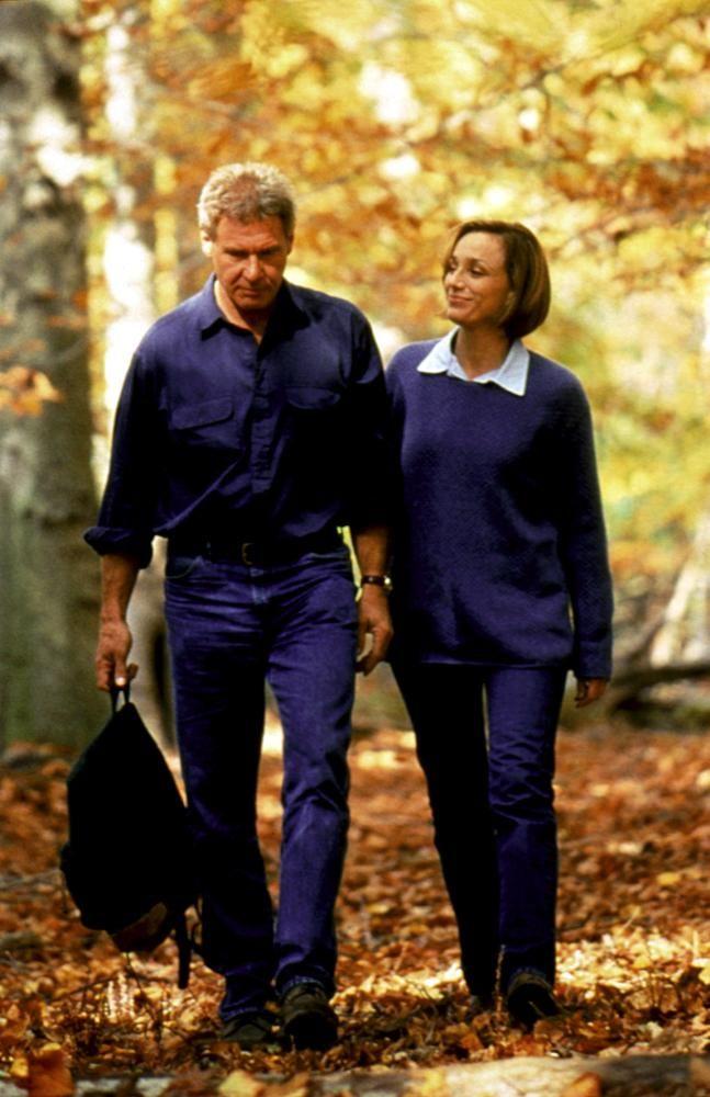 Harrison Ford And Kristin Scott Thomas In Random Hearts 1999