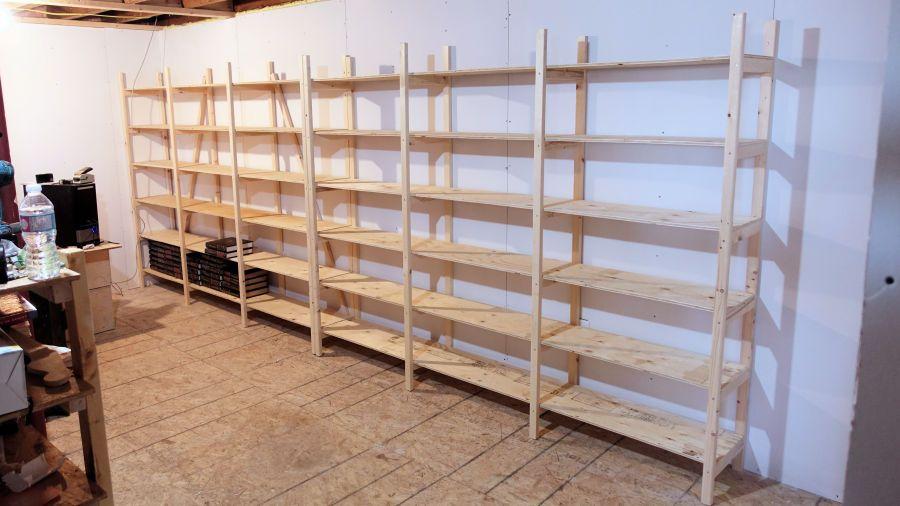 How To Make Storage Shelves Storage Shelves Diy Shelves Easy Easy Shelves