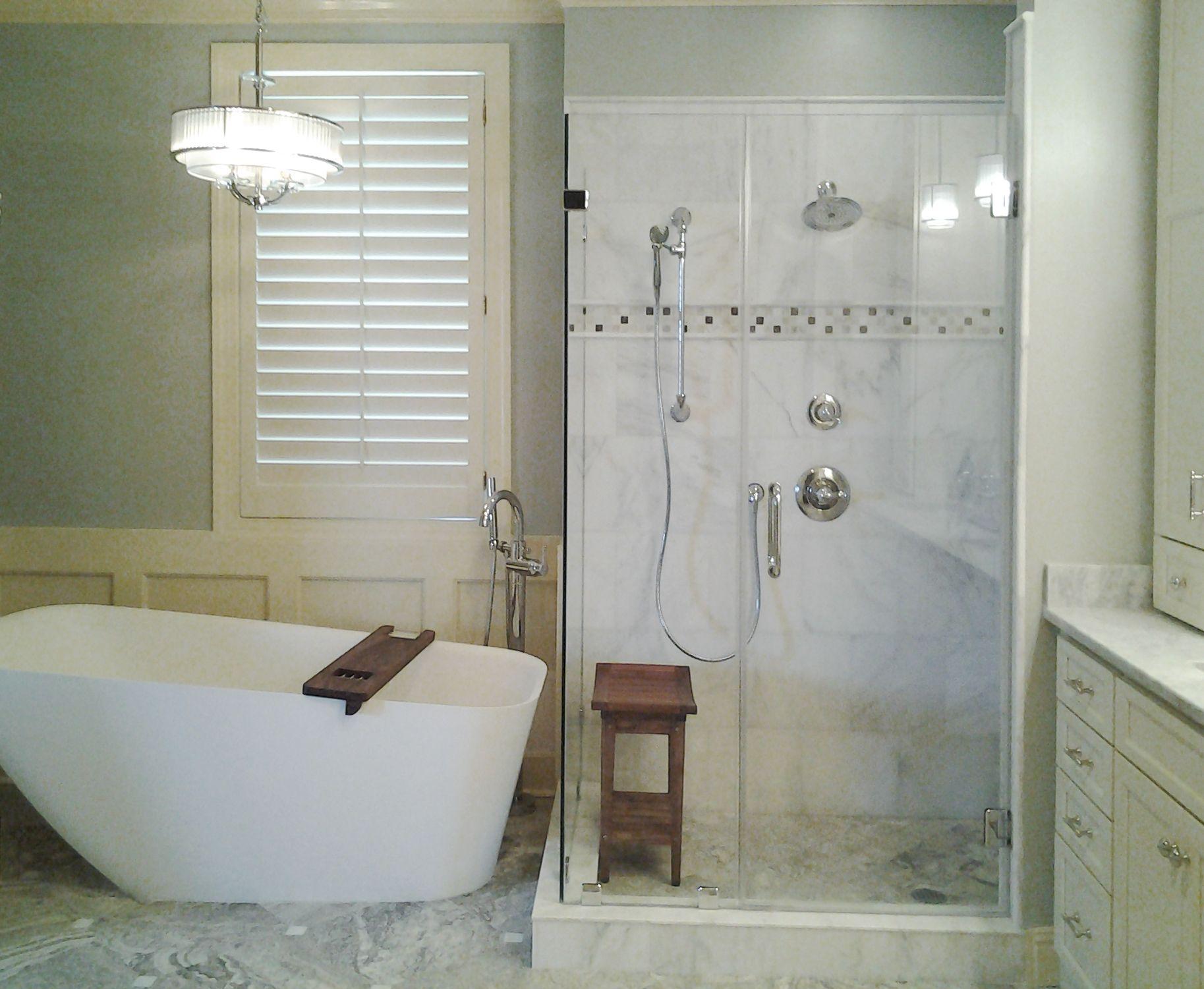 master bathroom in Savannah, GA. designed by McCall Chase ...