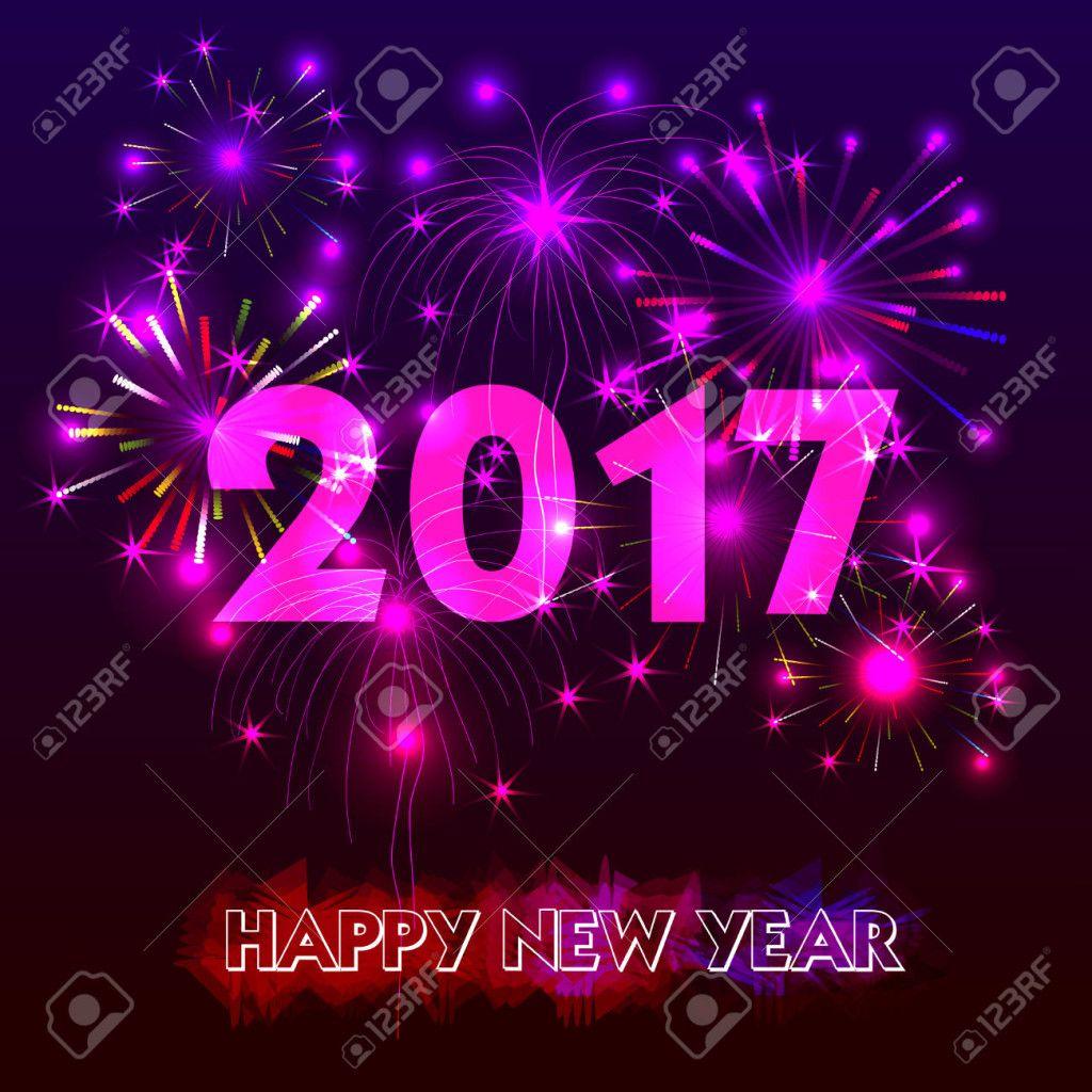 happy new year 2017   happy new year 2017 3d desktop wallpaper