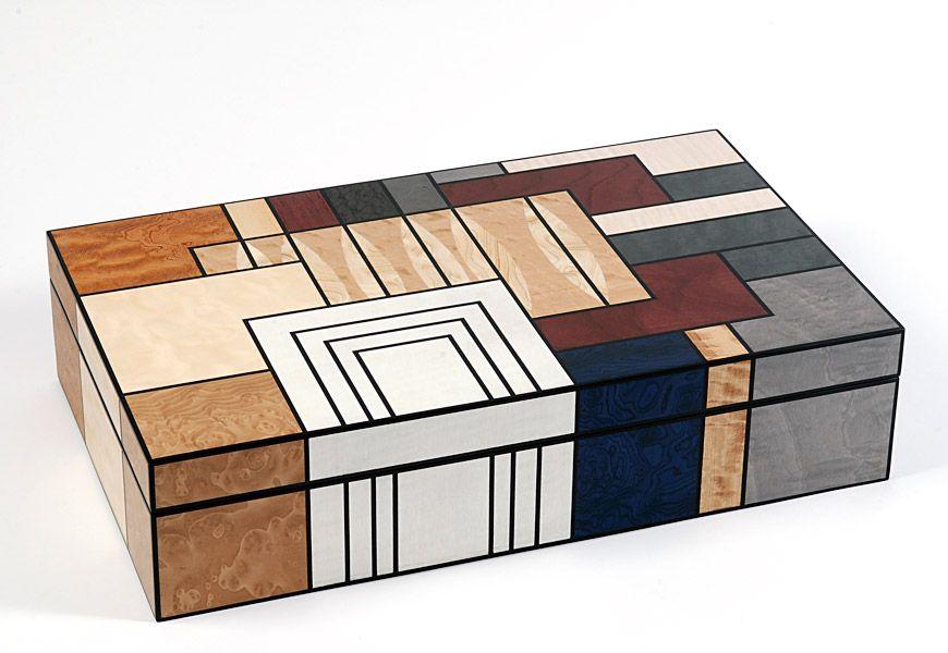 Marquetry Box - 460mm x 280mm x 110mm
