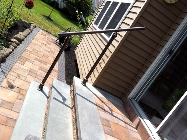 15 Customer Railing Examples For Concrete Steps  Http://www.simplifiedbuilding.com