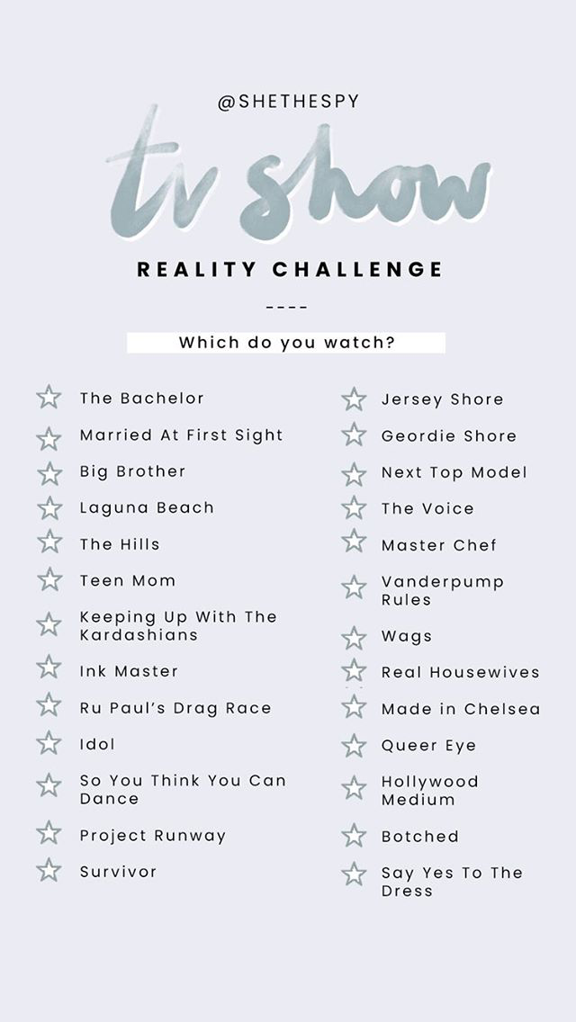 reality tv shows to apply for