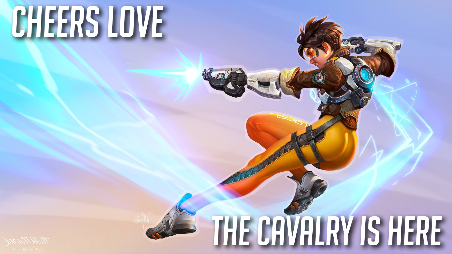 Overwatch Wallpaper Tracer R Wallpapers
