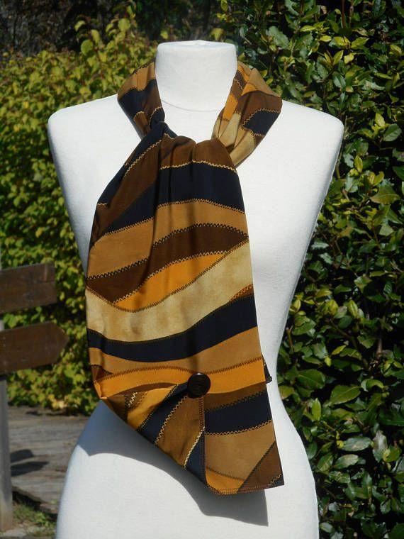 shopping new arrival online for sale grande écharpe foulard femme ocre jaune moutarde kaki et ...