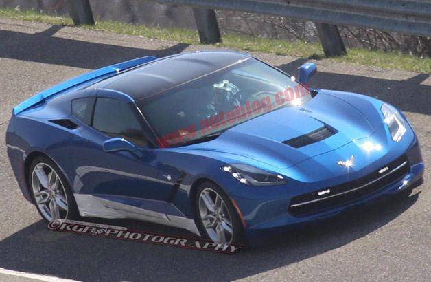 C7 Corvette Practicing As Indy 500 Pace Car Corvette Chevrolet