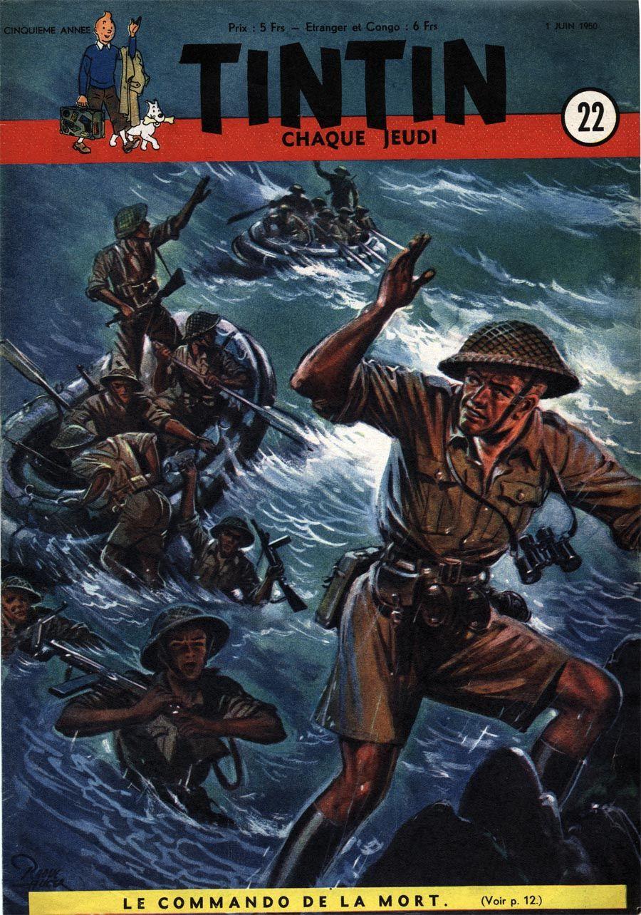 Le Journal de Tintin - Edition Belge - N°  193 - 1950-22 - Jeudi 1er Juin 1950 - Couverture : Raoul Auger