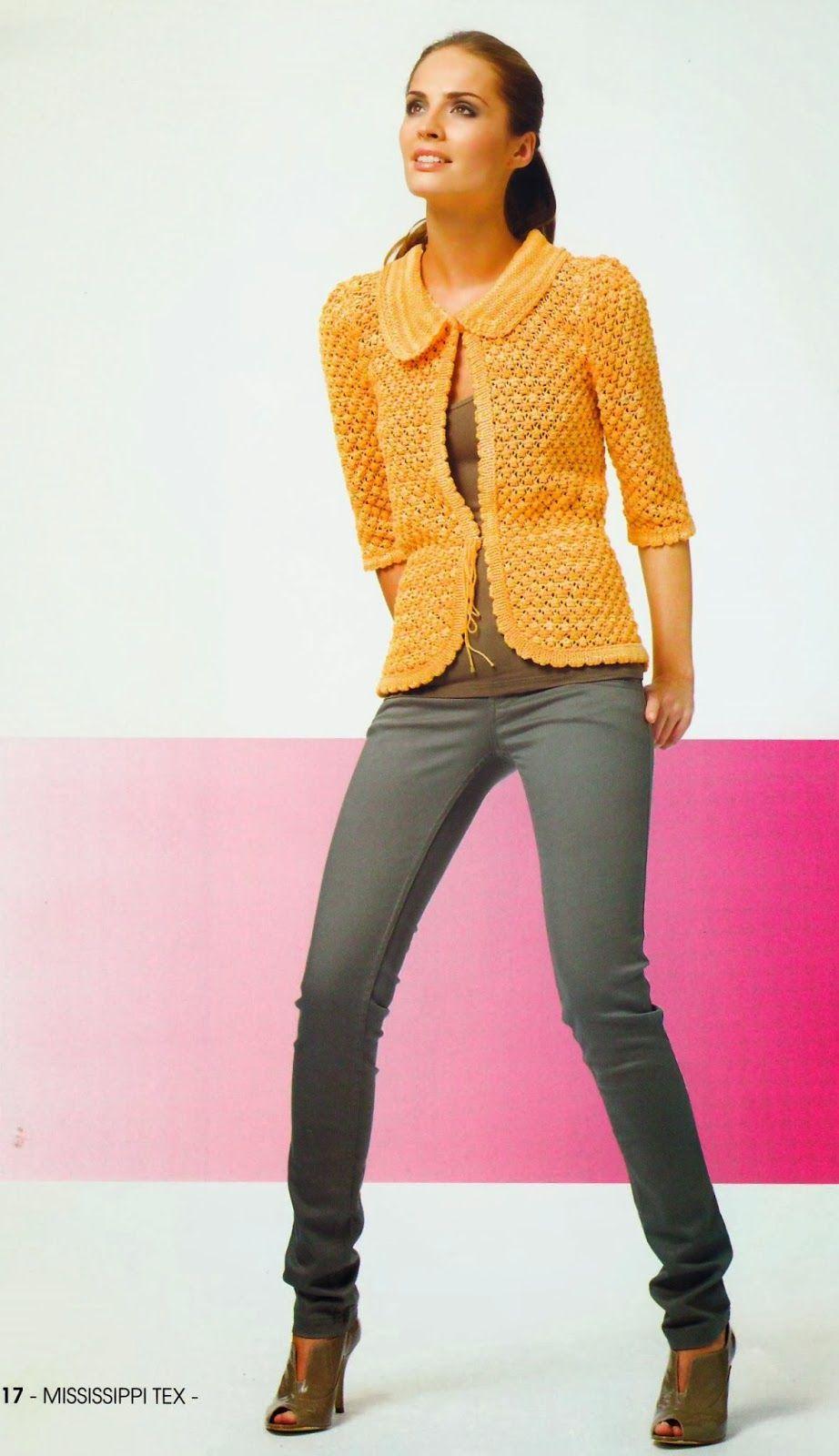 Modelos de chaquetas de punto para mujer