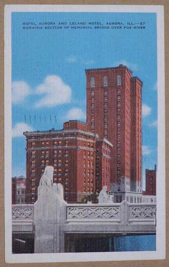 Hotel Aurora Leland Hotel Aurora Il Chicago History Hometown Aurora