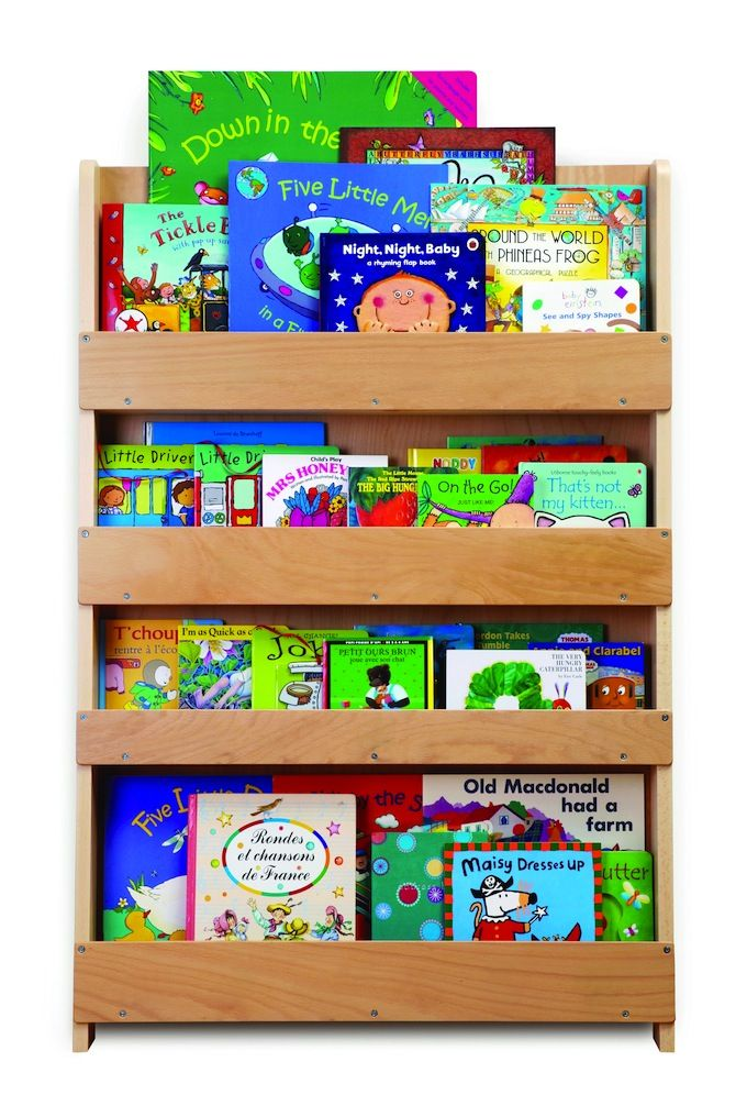 Tidy Books Children's Bookcase - Natural-children children's tidy books reading bookcase book case furniture natural