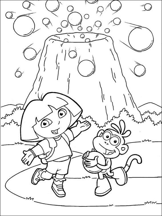 Dora The Explorer Coloring Pages 95 Coloring Pages Dinosaur Coloring Pages Coloring Pages For Boys