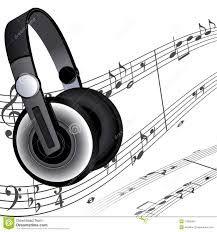 Carteles De Auriculares Con Notas Musicales Buscar Con Google