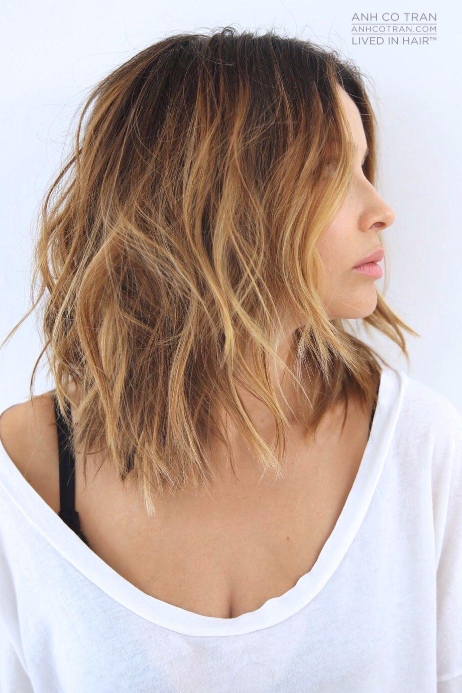 Anh co tran hair pinterest hair style haircuts and balayage