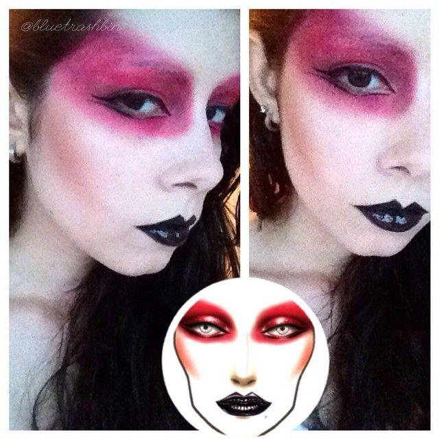 @bluetrashbin used #GothWhite for this #Glam #ArtRock look.