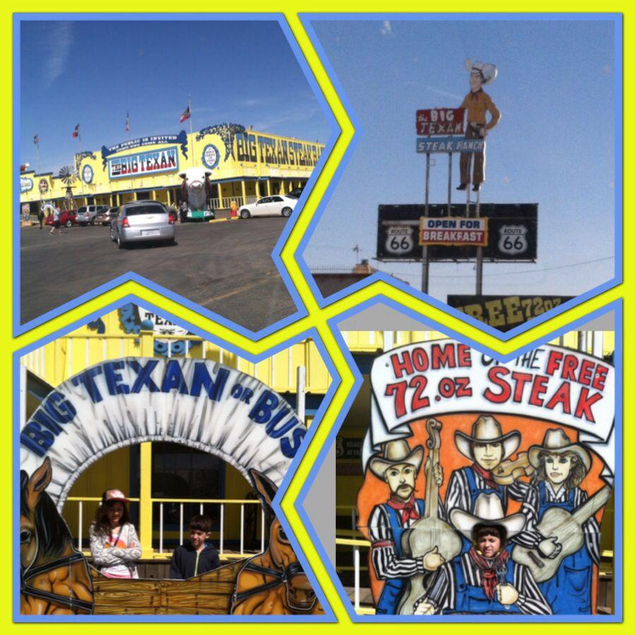 Amarillo texas the big texan steak house mini get away