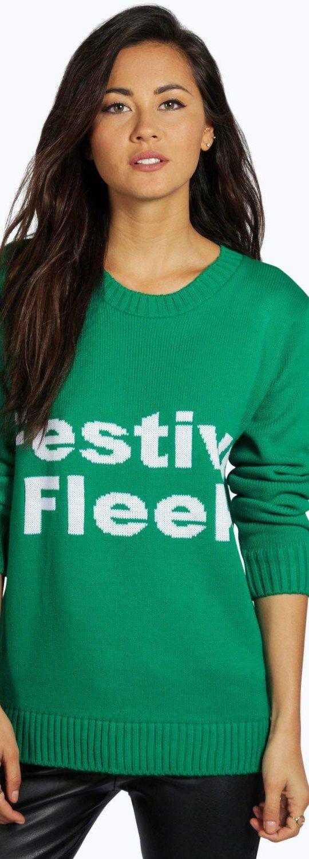 1a2f67f4a99 Faye Festive Fleek Christmas Jumper - Knitwear - Street Style ...