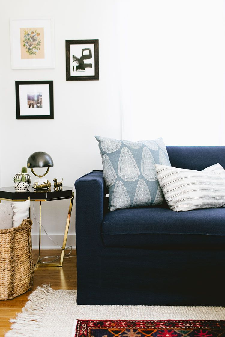 a budget friendly living room refresh with BemzDesign